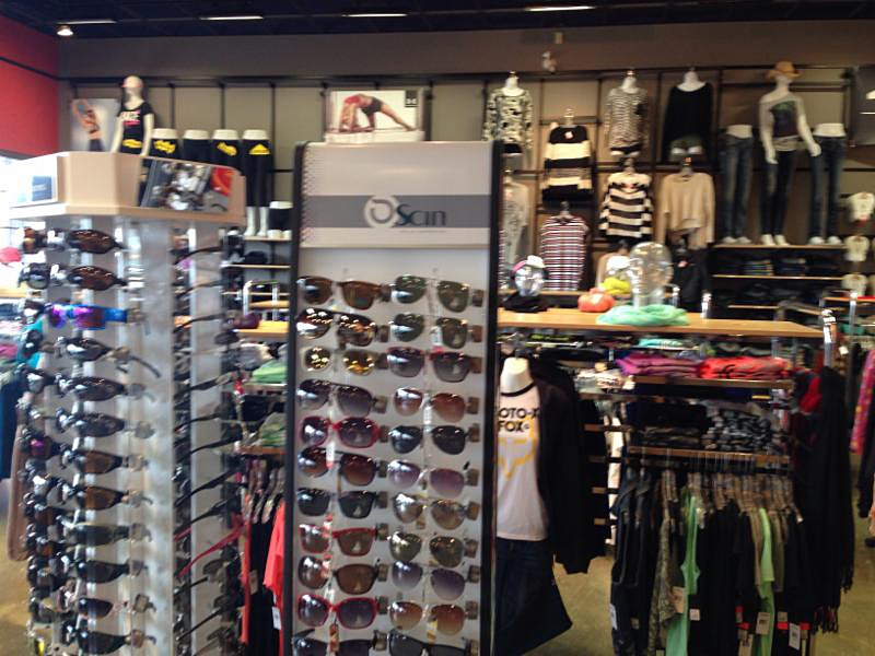 outdoor apparel and sporting goods